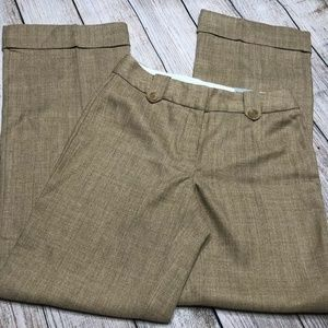 ☀️ Worthington Dress Pants Slacks Camel Tan 4 Cuff